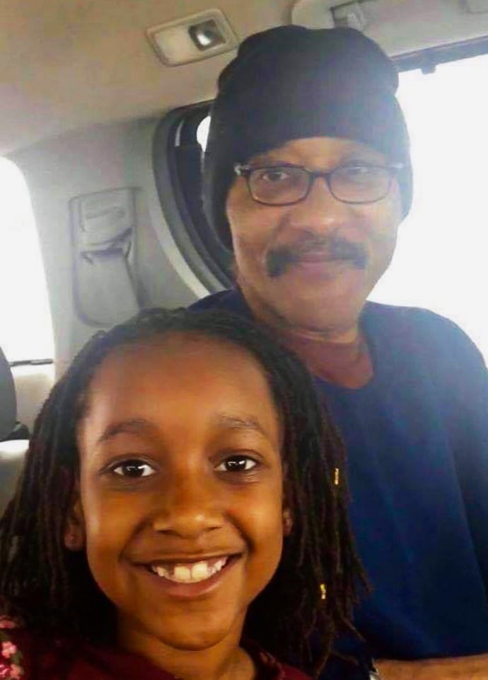 Chuck-Africa-freed-020720-w-niece-Alia, Chuck Africa is free! Next up Mumia, Behind Enemy Lines