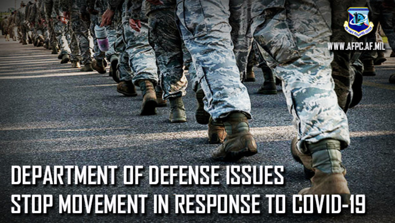 Department-of-Defense-Issues-Stop-Movement-in-Response-to-COVID-19-meme, Pentagon orders all installations to stop reporting COVID-19 infections and deaths, National News & Views