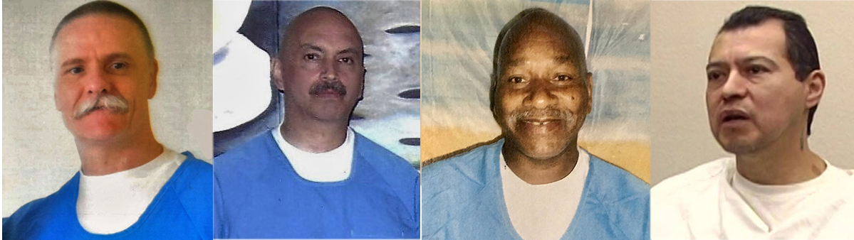 Four-main-reps-Todd-Ashker-Arturo-Castellanos-Sitawa-Nantambu-Jamaa-George-Franco, Liberate our elders! California Prison Focus demands Gov. Newsom protect peacemakers from COVID-19 by releasing them immediately, Behind Enemy Lines