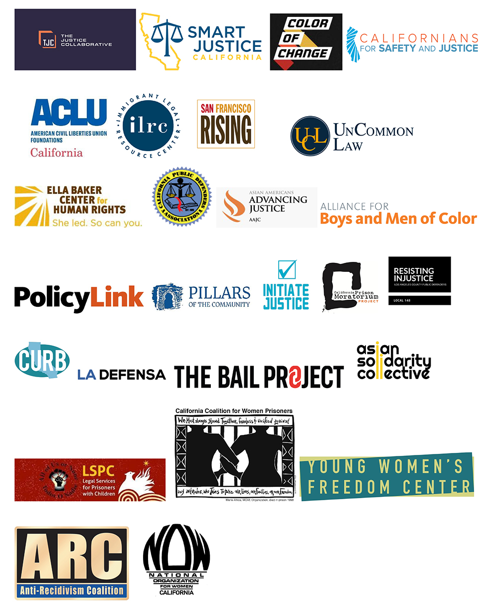 Justice-Collaborative-logos, Justice organizations call on California Gov. Newsom to act now to reduce COVID-19 risks in state prisons, Behind Enemy Lines