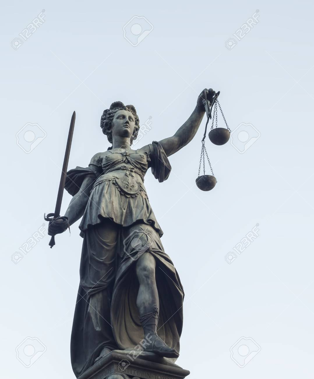 Lady-Justice-statue-in-Frankfort, World's most corrupt judicial system, Behind Enemy Lines
