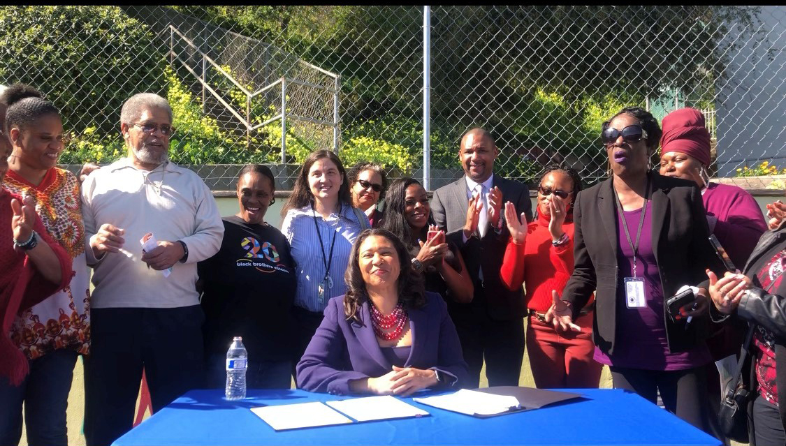 Mayor-London-Breed-w-Sup.-Shamann-Walton-signs-Right-to-Return-for-public-housing-residents-at-Potrero-022620-by-Evan-Ward, Mayor Breed celebrates Right to Return ordinance, Local News & Views