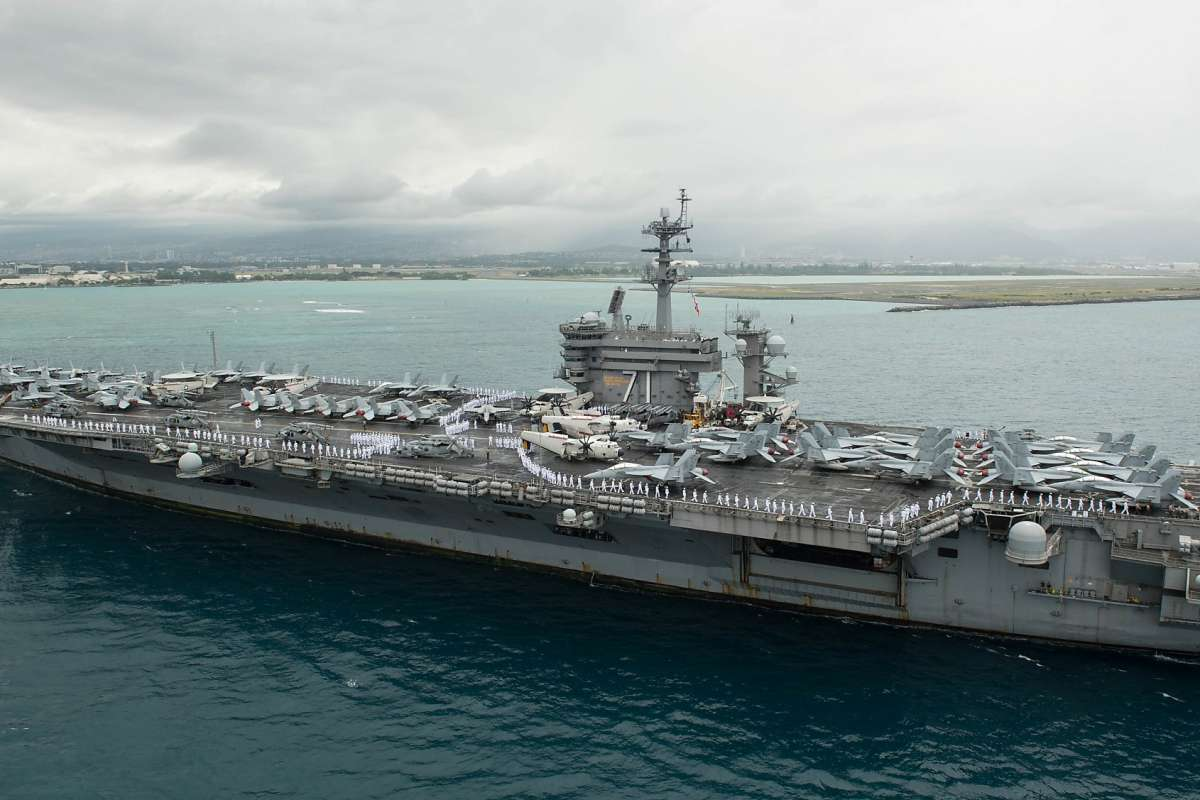 USS-Theodore-Roosevelt, Pentagon orders all installations to stop reporting COVID-19 infections and deaths, National News & Views