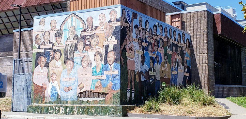 Ella-Hill-Hutch-Community-Center-murals-painted-by-Eugene-White-1, San Francisco's Ella Hill Hutch Community Center has become an emergency community hub, Local News & Views