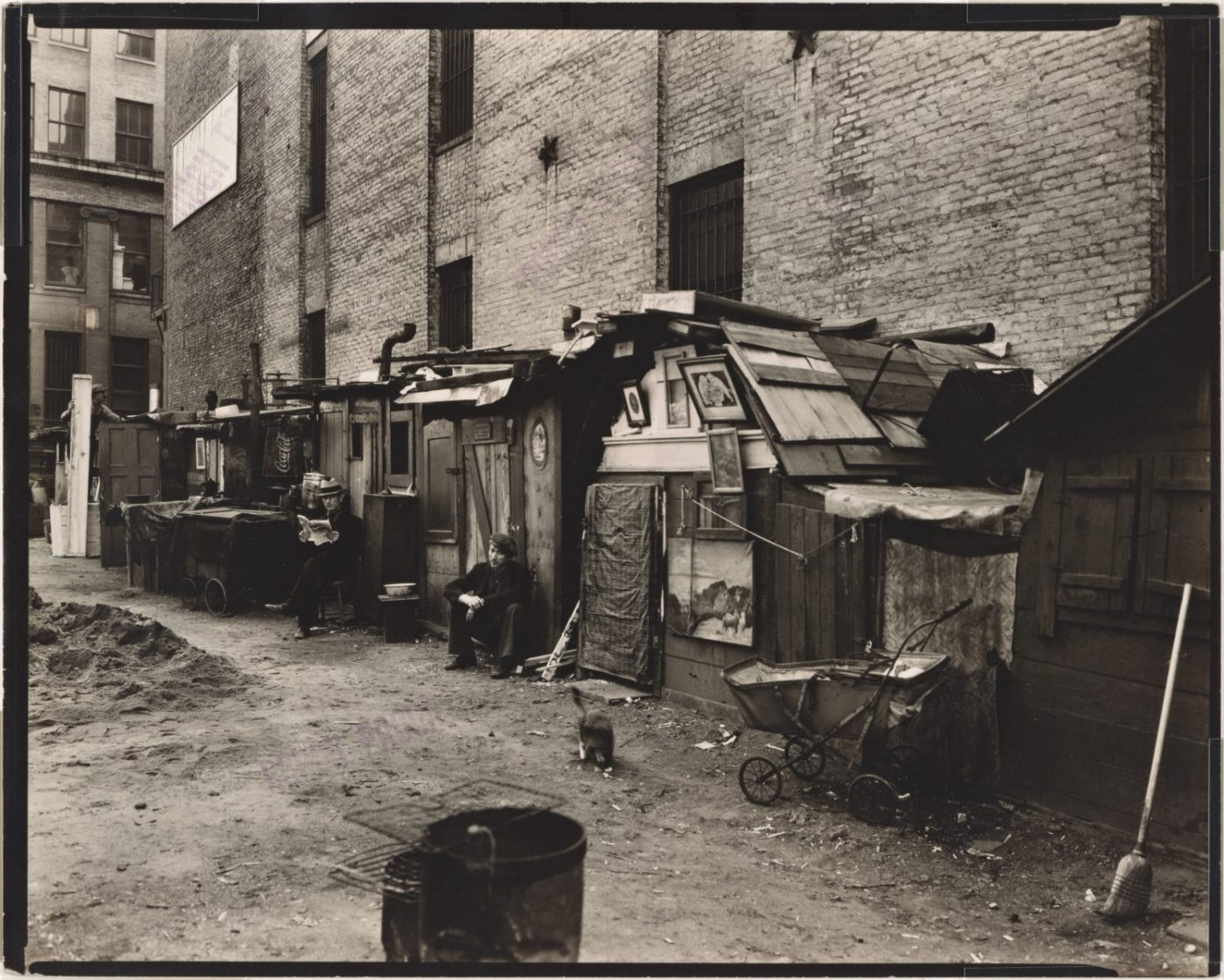 Homeless-encampment-at-West-Houston-Mercer-St.-Manhattan-NYC-1935-by-Berenice-Abbott-1400x1121, Transitional thinking: The Black Bay Area Quarantine Chronicles #1, Culture Currents