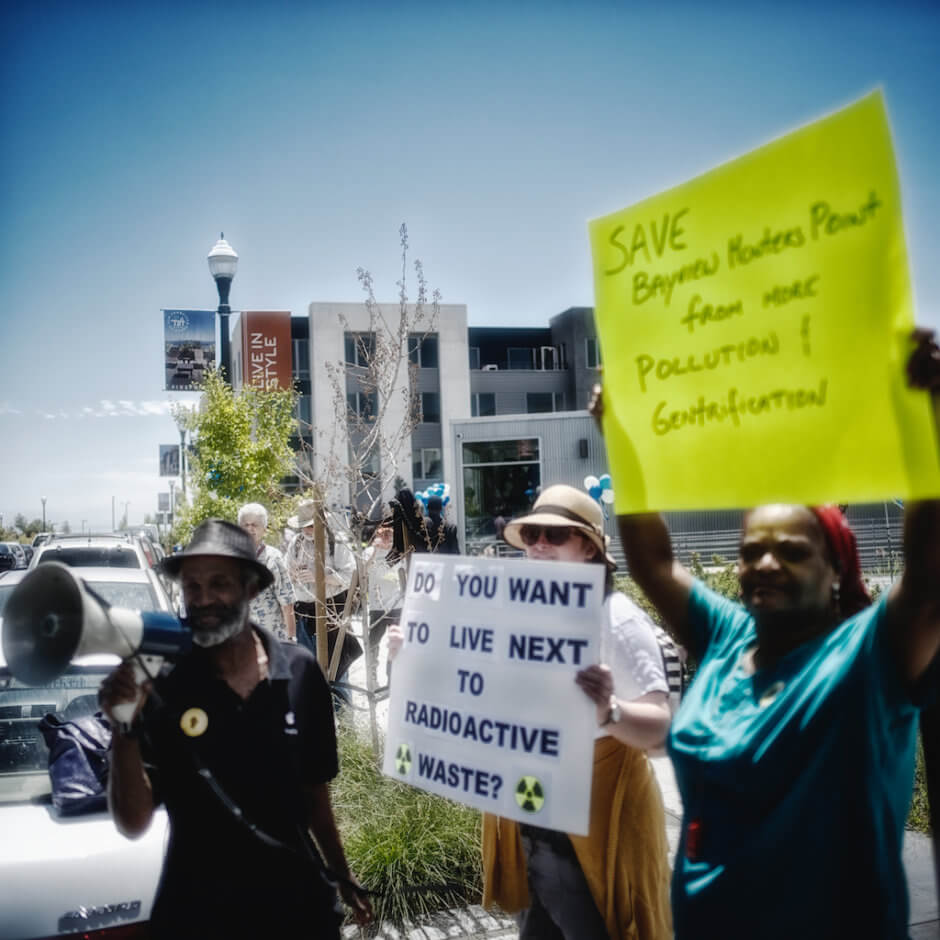 Save-Bayview-Hunters-Point-Do-you-want-to-live-next-to-radioactive-waste-protesters-at-Lennar-housing-in-Hunters-Point-Shipyard, Earth Day appeal to San Francisco Mayor London Breed and the Board of Supervisors: Protect the health and environment of Bayview Hunters Point, Local News & Views