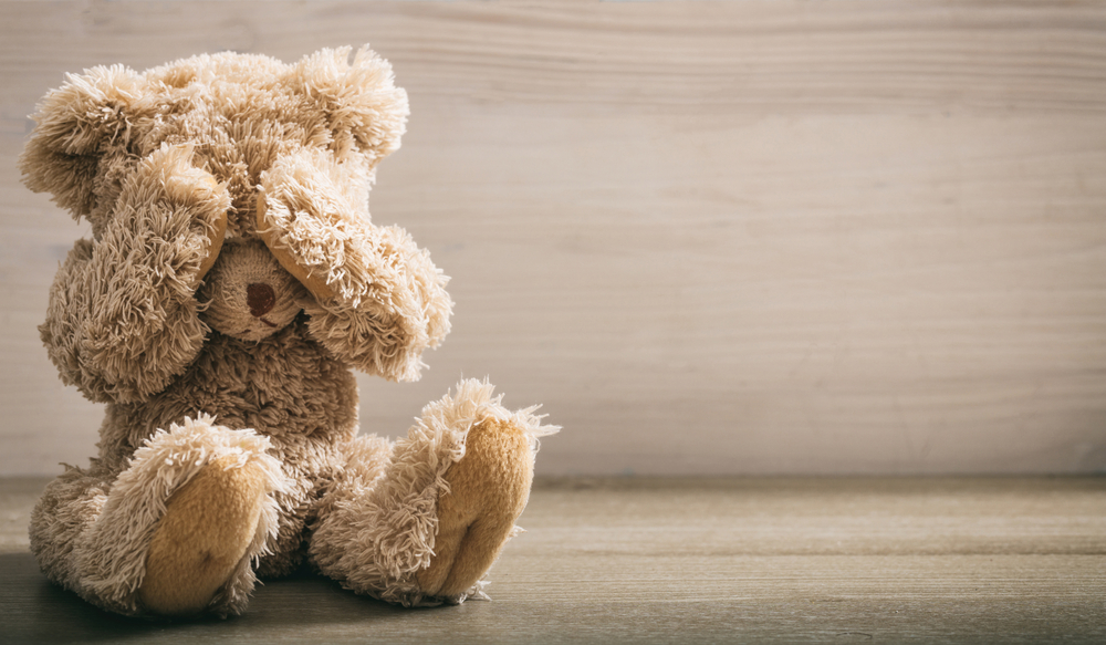 Teddy-bear-hiding-his-eyes, Supporting your children during the COVID-19 outbreak, Culture Currents