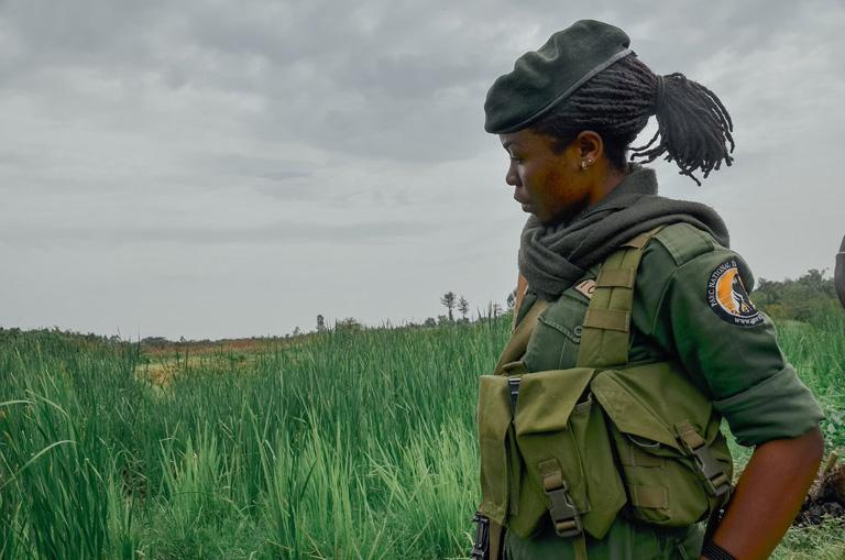 Virunga-National-Park-Congolese-Sister-Ranger, DRC's Virunga: Park, gorillas and rangers all under attack, World News & Views