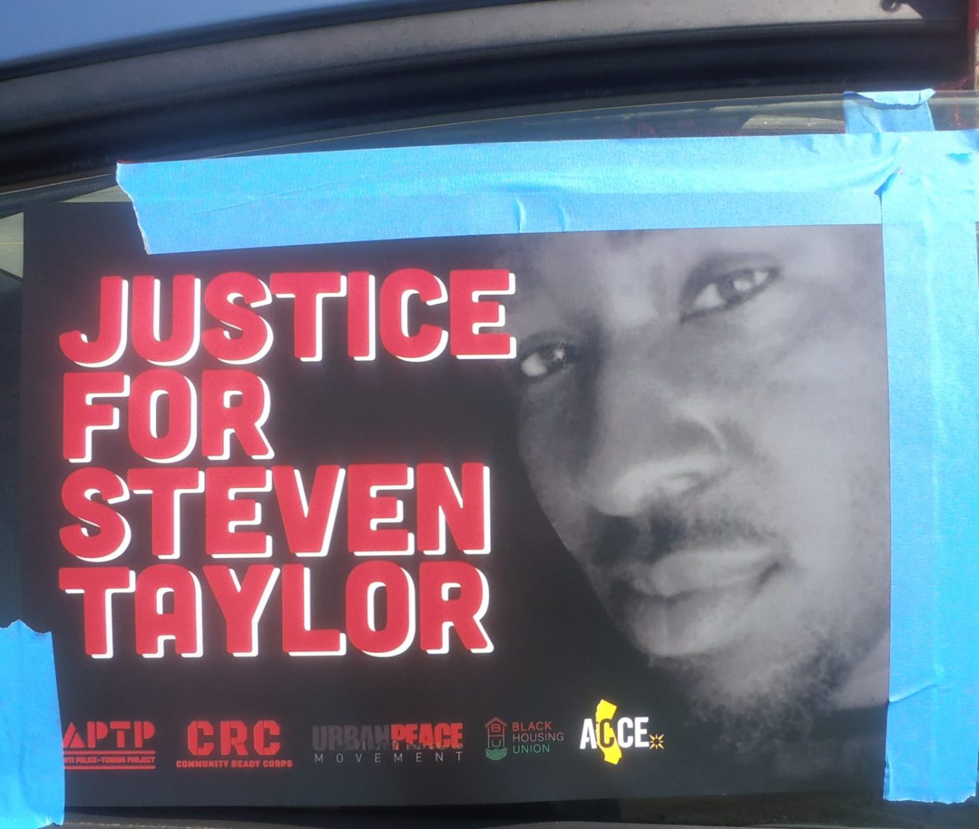 Justice-for-Steven-Taylor'-car-caravan-0420-by-Baba-Jahahara-1400x1186, WE are the 'eight ball'!, Culture Currents