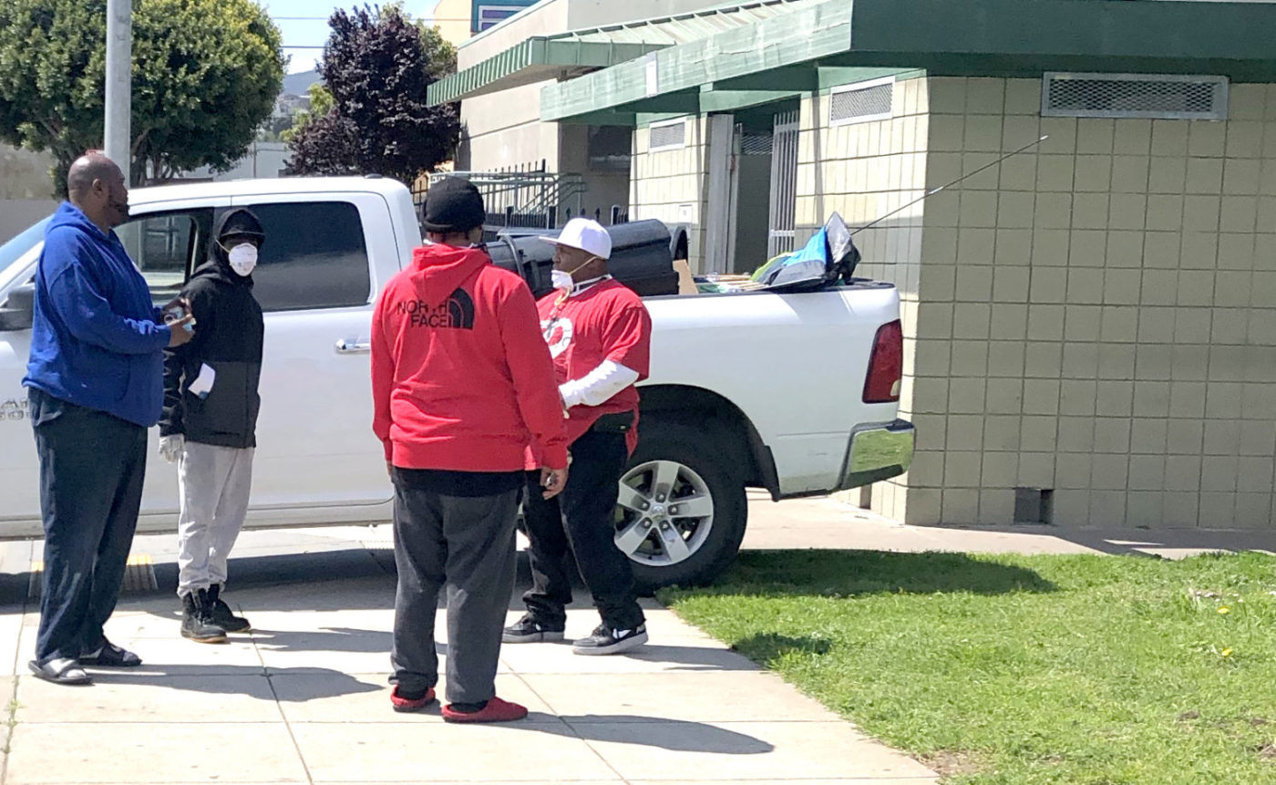 Beds-4-Bayview-Mother-Brown-employees-remove-remnants-of-tents-in-first-attempt-to-occupy-MLK-Park-1400x861, Community seizes MLK Park as immediate COVID relief for unhoused neighbors, Local News & Views
