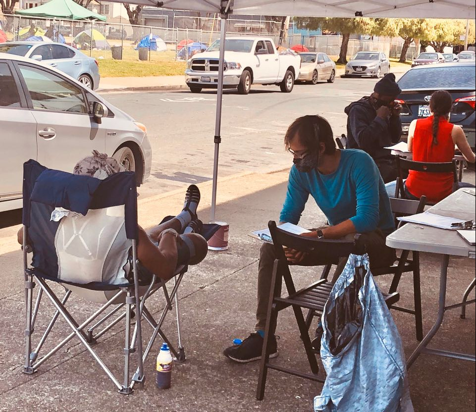 Beds-4-Bayview-Tipping-Point's-'Chronic-Homelessness-Initiative'-team-helps-MLK-Park-residents-get-stimulus-checks, Community seizes MLK Park as immediate COVID relief for unhoused neighbors, Local News & Views