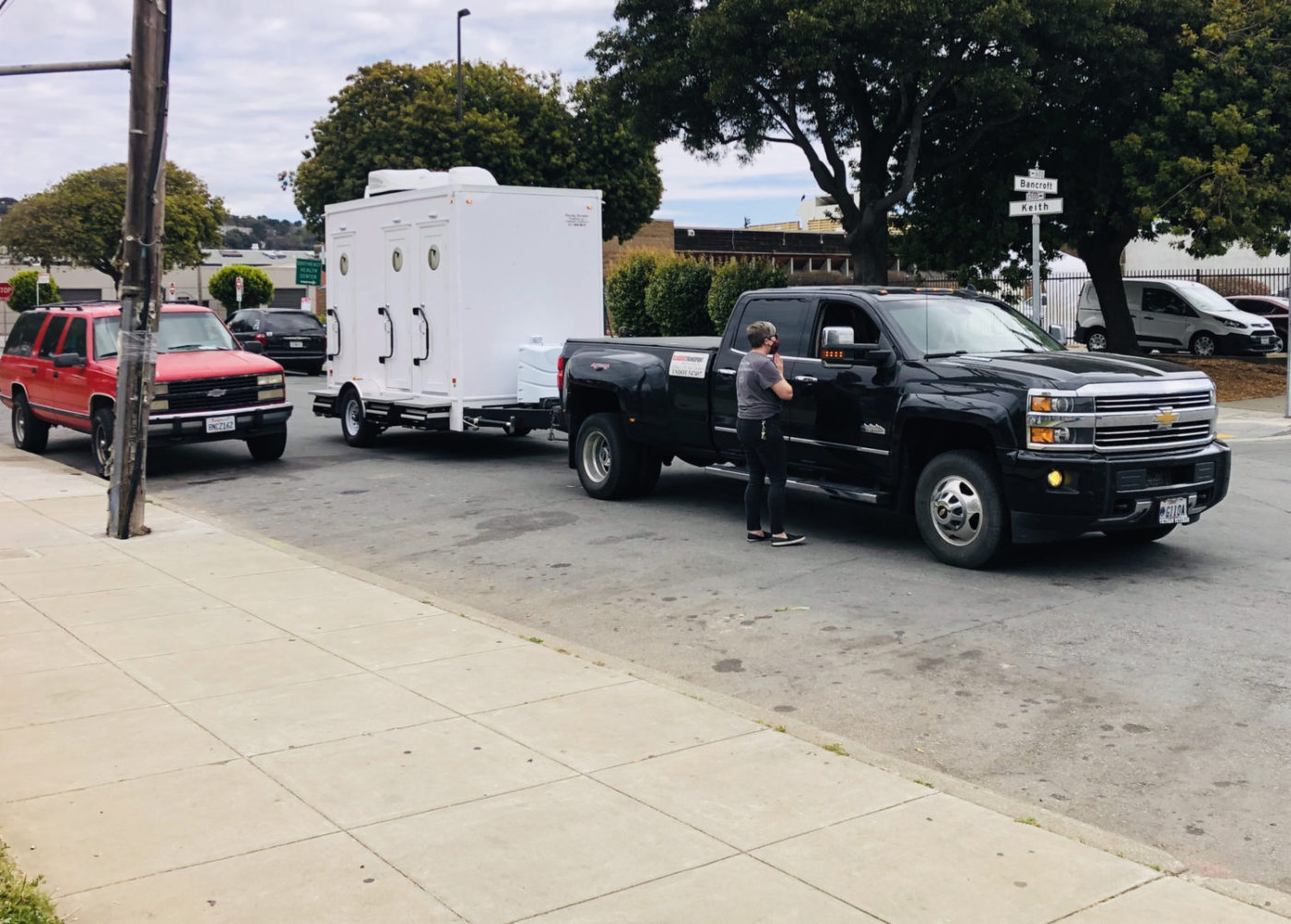 Beds-4-Bayview-showers-arrive-at-MLK-Park-1400x1002, Community seizes MLK Park as immediate COVID relief for unhoused neighbors, Local News & Views