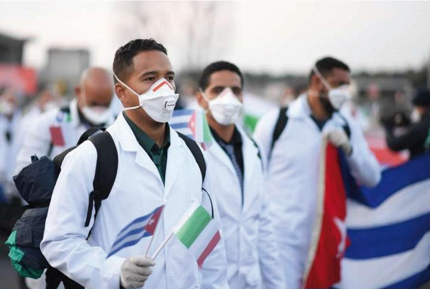 Cuban-Medical-Brigades-1-2, Get out Cuba's way, World News & Views