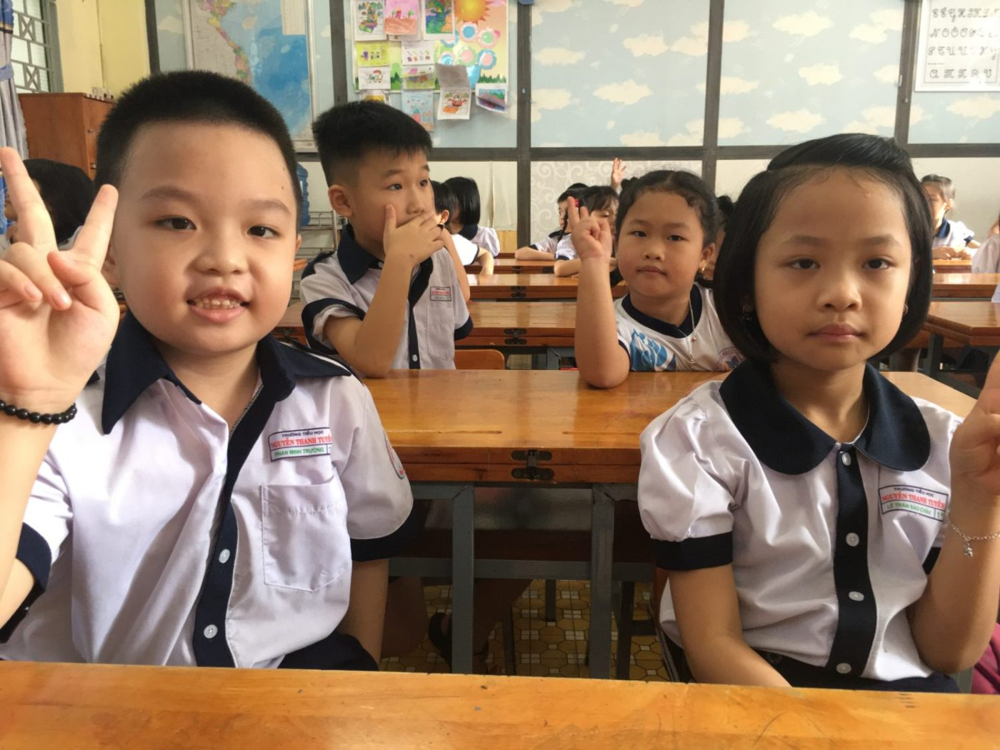 First-grade-English-class-at-Nguyen-Thanh-Nguyen-Primary-School-in-Tan-Binh-District-Ho-Chi-Minh-City-on-1st-day-back-to-school-from-lockdown-051120-by-teacher-photographer-©Le-Thi-Xuan-Ninh-1400x1050, Viet Nam vs. COVID-19: How one small nation defeated a global enemy, World News & Views