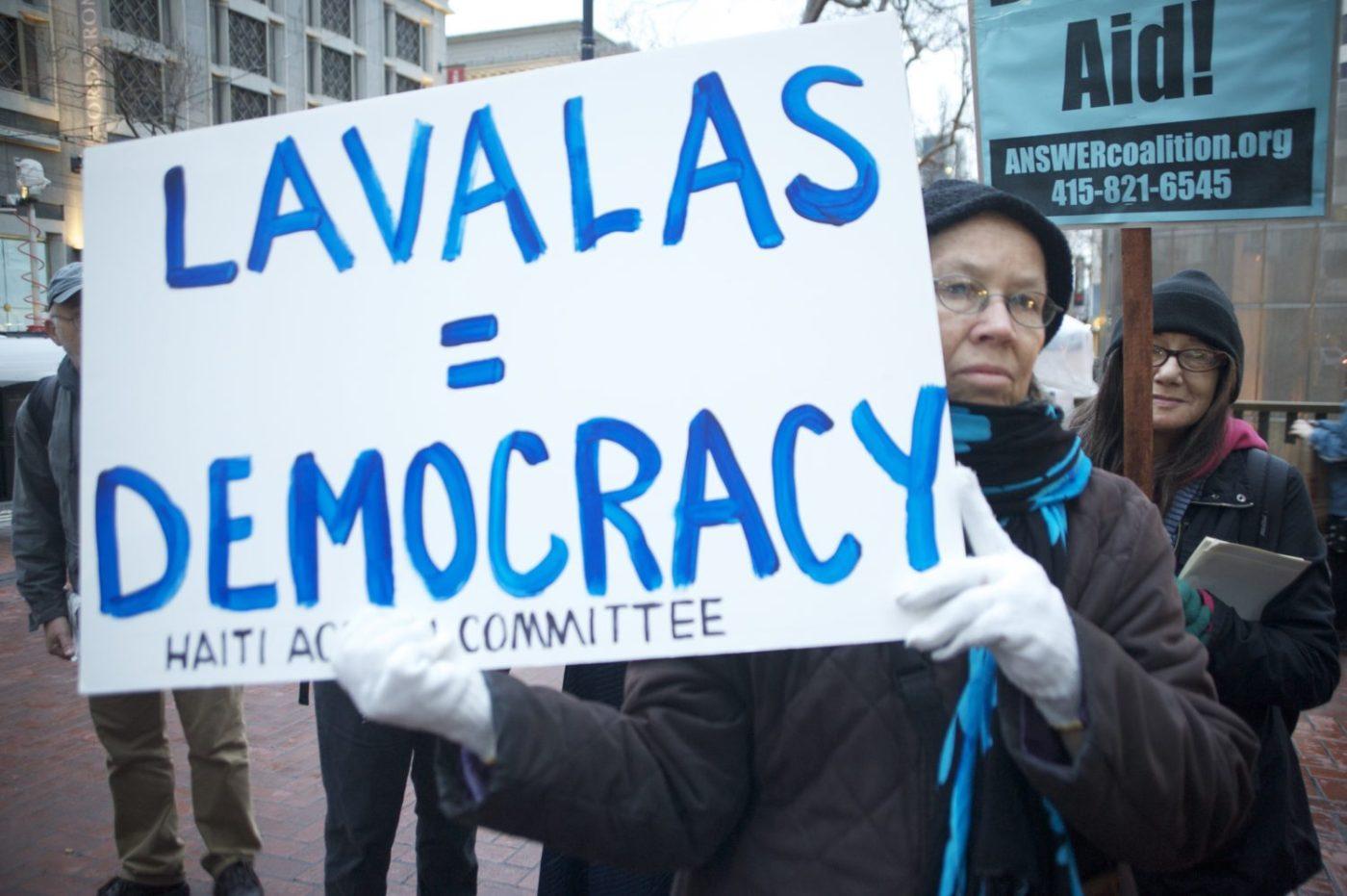 Haiti-earthquake-SF-rally-Lavalas-Democracy-012510-by-Kamau-1400x931, Alone we are weak, together we are strong, all together WE ARE LAVALAS: Lavalas statement on coronavirus, World News & Views