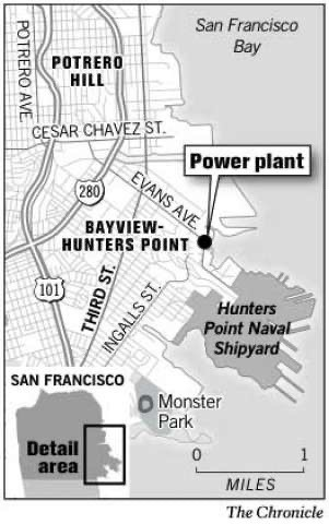 Map-of-pollution-sources-Bayview-Hunters-Point-c.-2006-by-SF-Chonicle, From mother to martyr: Remembering Marie Harrison on the anniversary of her 'very last breath', Culture Currents