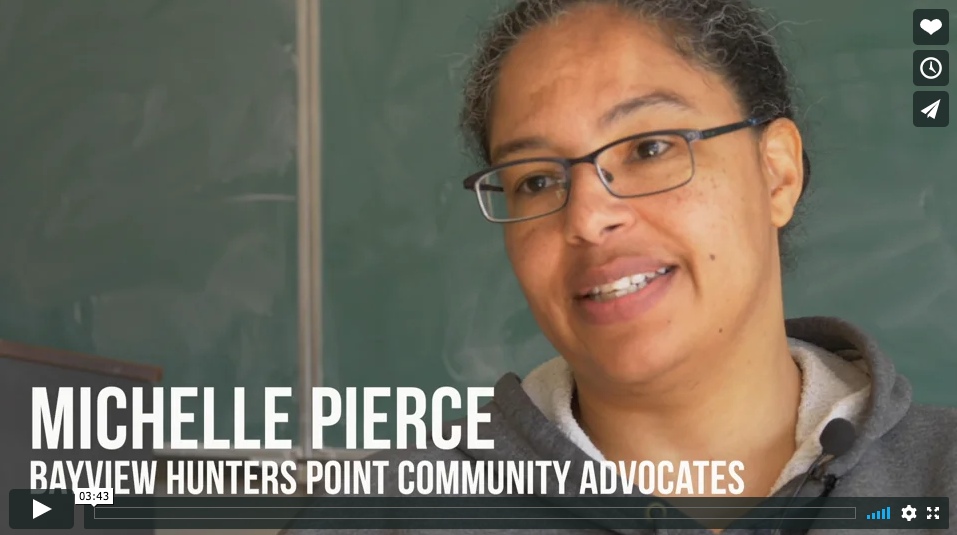 Michelle-Pierce-Bayview-Hunters-Point-Community-Advocates-portrait-graphic-cropped-headshot-only, 'United in Health D10' to crush the coronavirus, Local News & Views