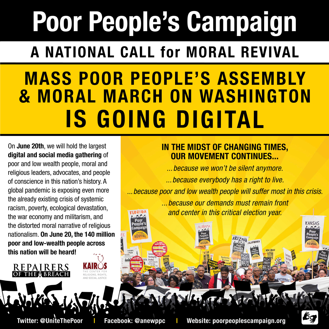Poor-Peoples-Campaign-is-going-digital-poster, Which side are you on, Mayor Breed?, National News & Views