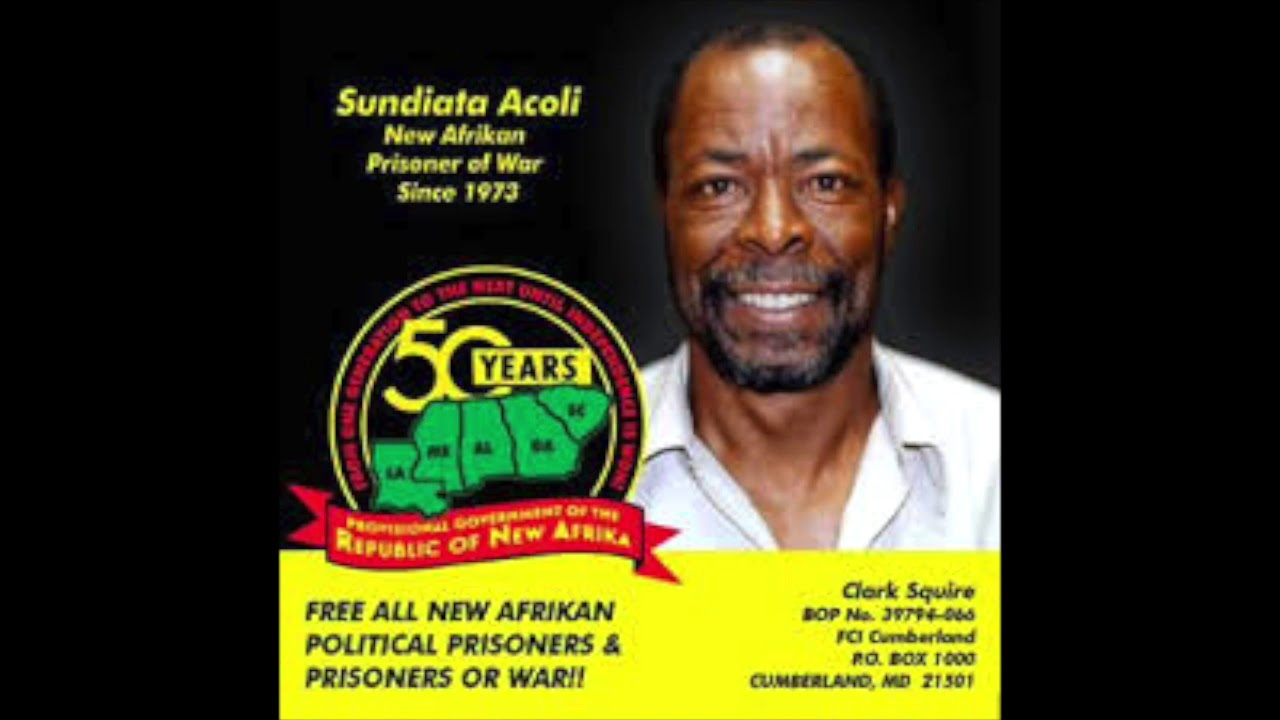 Sundiata-Acoli-New-Afrikan-Prisoner-of-War-Since-1973-graphic, Fundraiser to free political prisoner Sundiata Acoli, 83, from 47 years in prison, Behind Enemy Lines