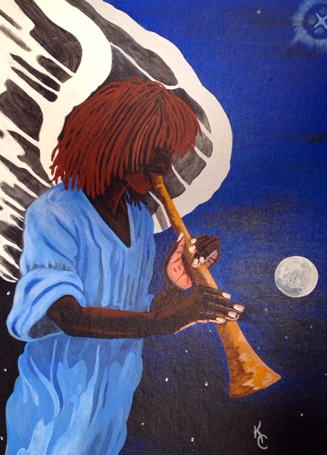 Taps-art-by-Kevin-Cooper, Experiencing COVID-19 on death row, Behind Enemy Lines