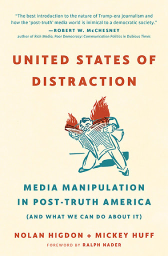 United-States-of-Distraction-cover, 'United States of Distraction,' a book review, Culture Currents