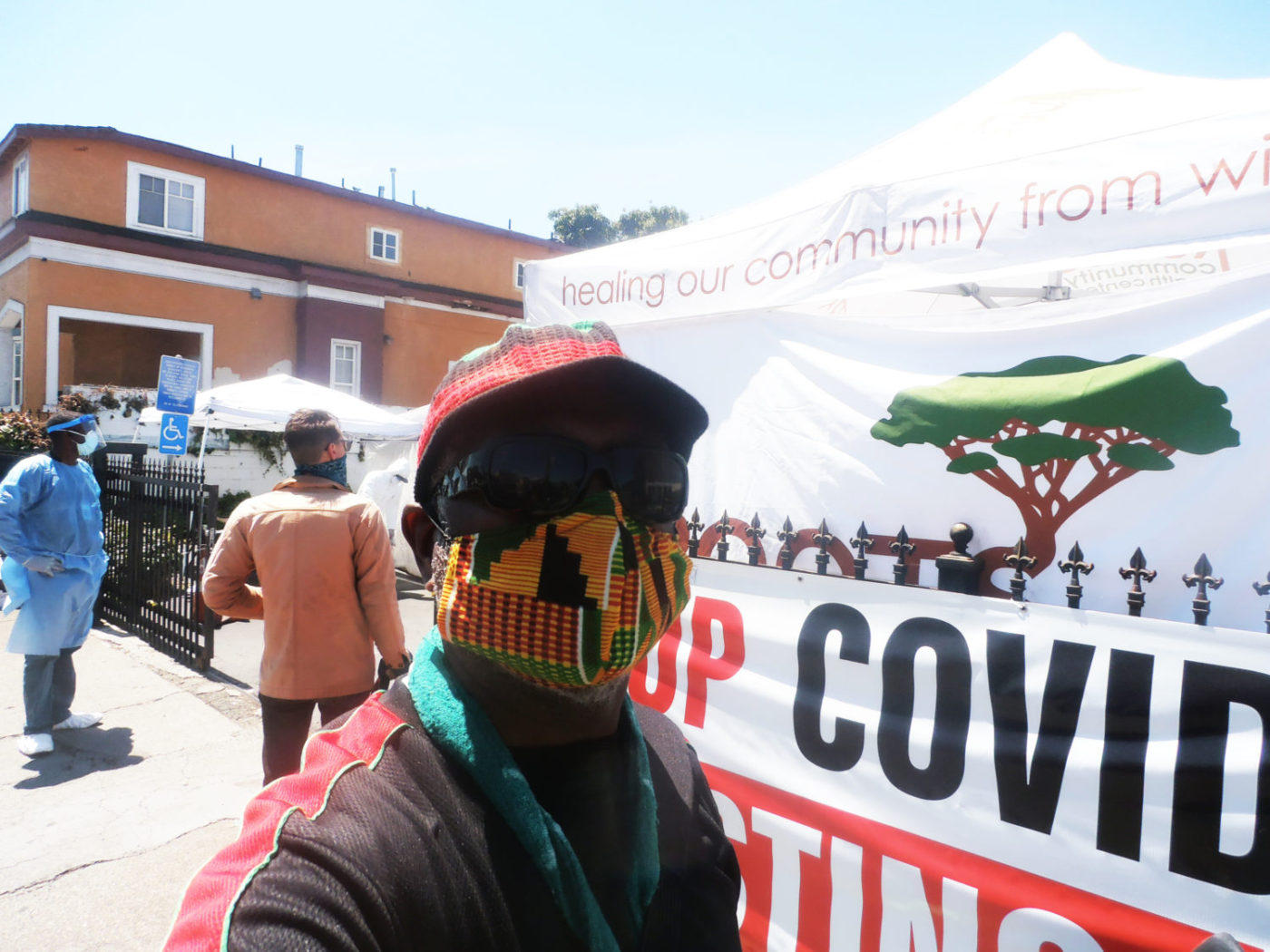 Free-COVID-19-tests-at-ROOTS-Community-Health-Ctr-and-Allen-Temple-Baptist-Church-0520-by-Jahahara-1400x1050, Advancing African liberation on the daily!, Culture Currents