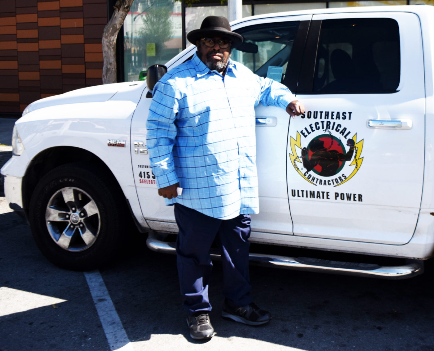 James-Richards-of-Southeast-Electrical-Contractors-stands-by-his-truck-0520-by-Johnnie-Burrell-1400x1131, Why bother? A question by Black small businesses during the COVID-19 crisis, Local News & Views