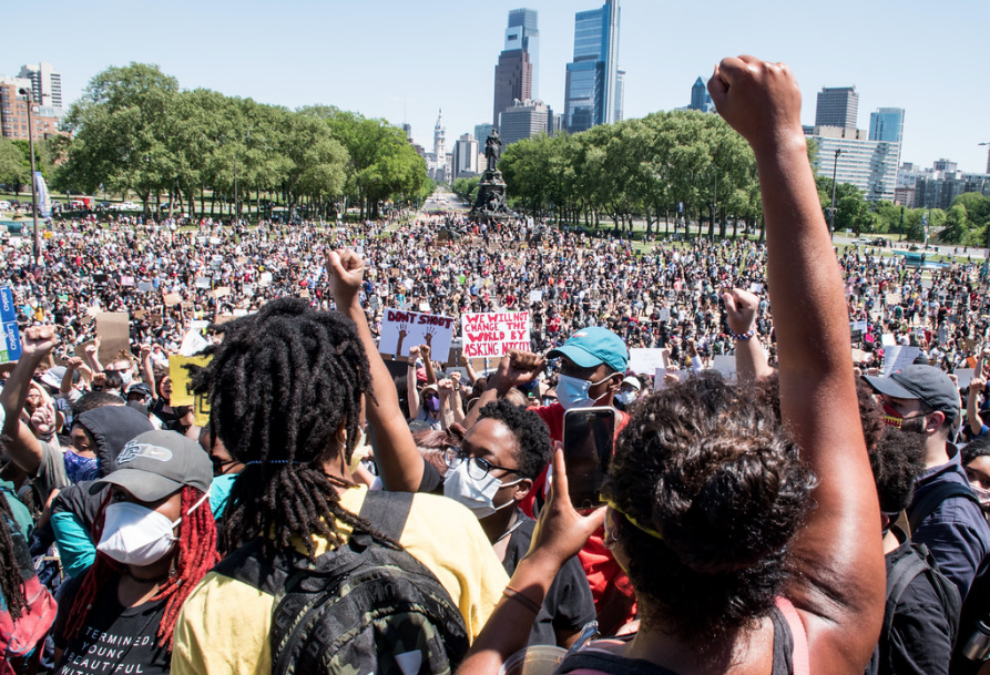 Mass-protest-against-police-brutality-for-George-Floyd-Breonna-Taylor-central-Philly-053020-by-Joe-Piette-Flickr-Creative-Commons, From 'movement moments' to change, from the Red Summer to Black Lives Matter, National News & Views