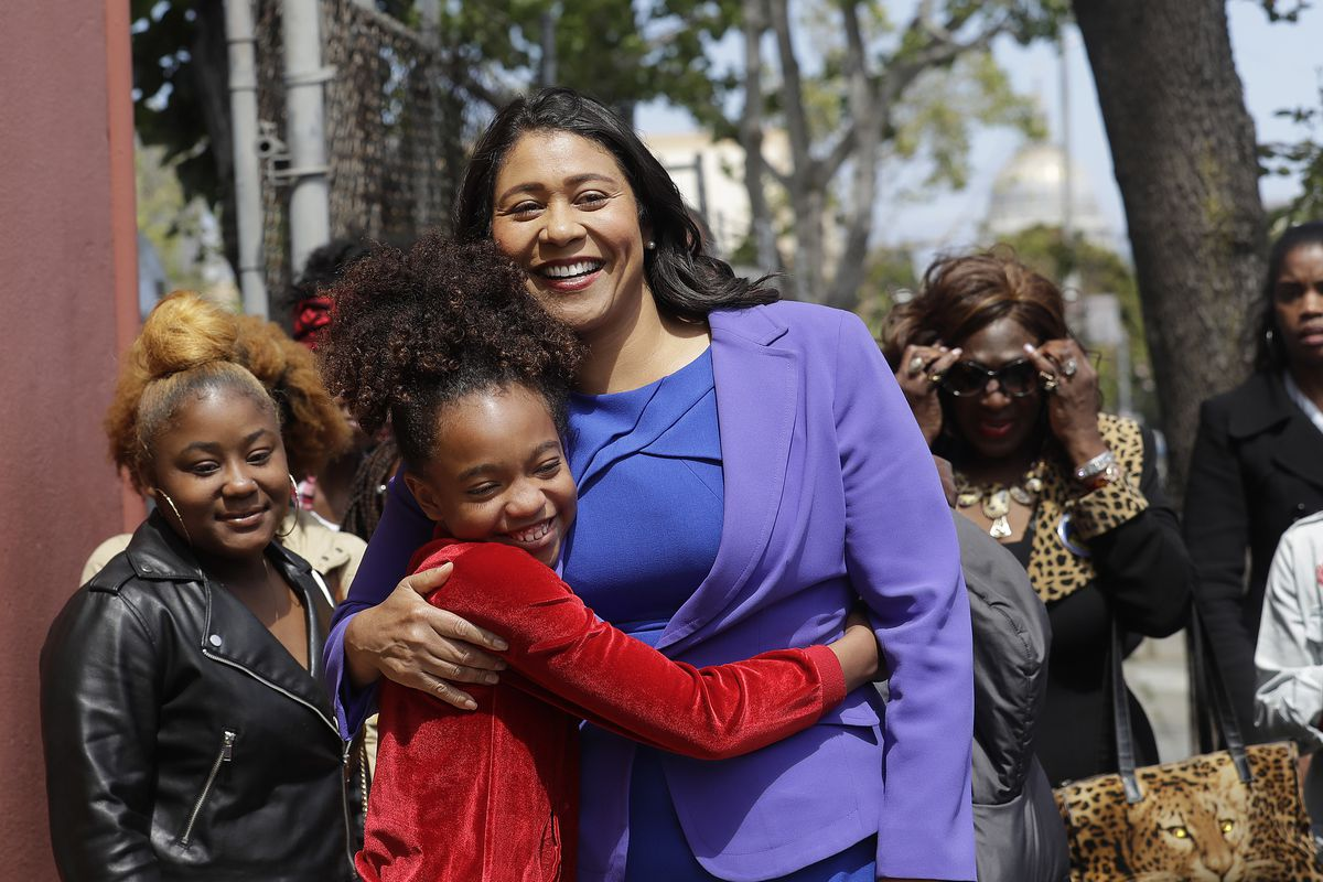 Mayor-London-Breed-hugs-lil-girl-announcing-30-CARES-2.0-stipends-for-early-childhood-educators-1019, Mayor Breed: Modified citywide summer camps will open to all children 6-17 on June 15, Local News & Views