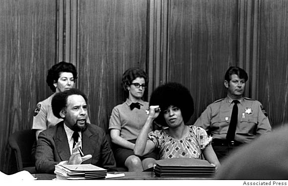 Trial-of-Angela-Davis-charged-w-supplying-weapons-for-Marin-Courthouse-Rebellion-031671-later-acquitted-by-AP, Soledad uncensored: Racism and the hyper-policing of Black bodies, Part 2, Behind Enemy Lines
