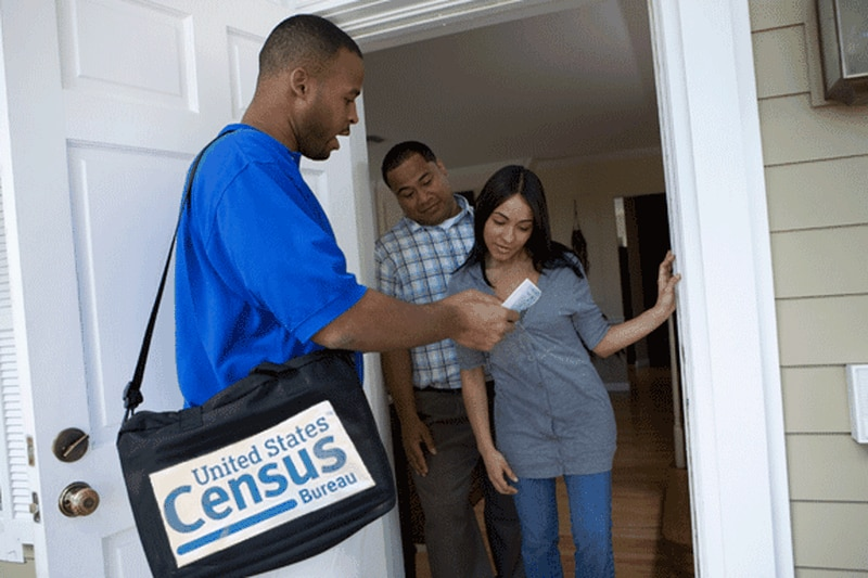 2020-census-taker-goes-door-to-door-in-hard-to-count-community, Census 2020: Overcoming barriers to being counted, Local News & Views
