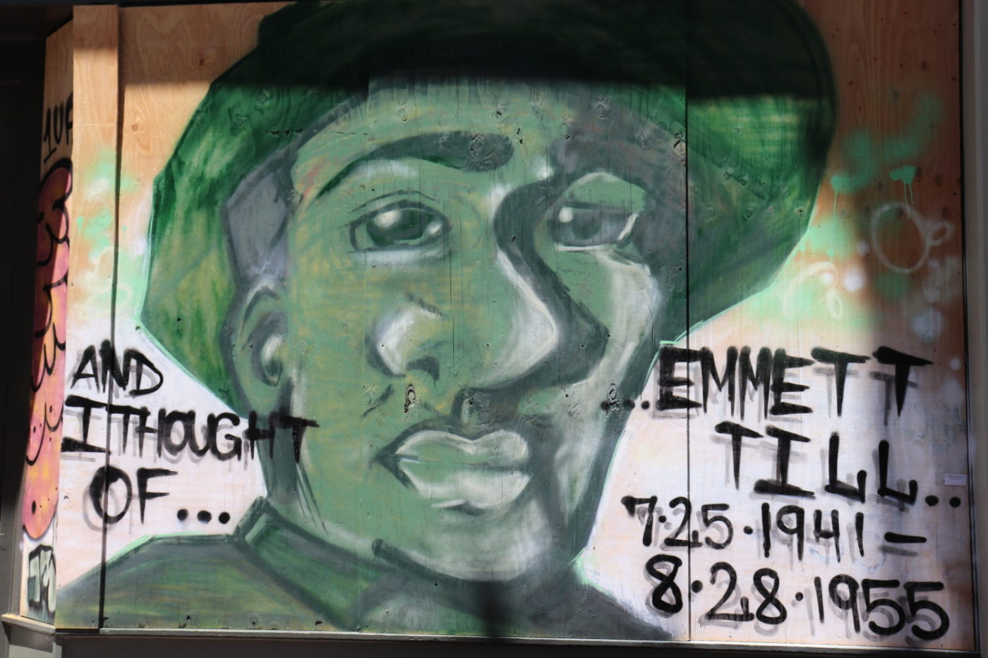 And-I-thought-of-...-Emmett-Till-mural-on-boarded-up-window-Oakland-0720-by-JR-1400x933, Supervisor Shamann Walton's CAREN Act seeks to legally address the weaponization of calling 911, Local News & Views