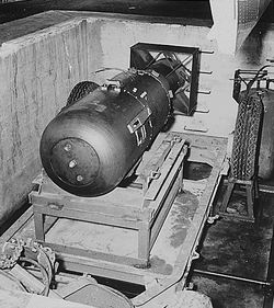 Atom-bomb-Little-Boy-tsfd-onto-USS-Indianapolis-at-Hunters-Point-Shipyard-to-Tinian-0715-2645-1, The bomb in our bodies, Local News & Views