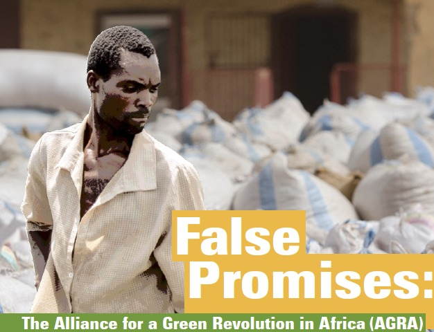 False-Promises-AGRA-cover, The Gates Foundation's 'Green Revolution' in Africa: Agribusiness wins, small scale farmers lose, World News & Views