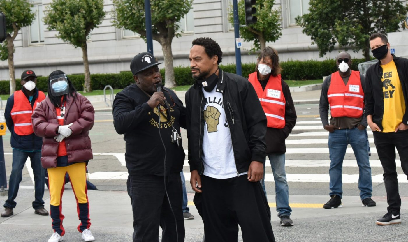 Invest-Black-Rally-supporting-Props-16-17-Damien-Posey-aka-Uncle-Damien-with-Us4Us-speaking-at-SF-City-Hall-072420-by-Johnnie-Burrell-1-1400x831, Invest Black – when government is us, Local News & Views