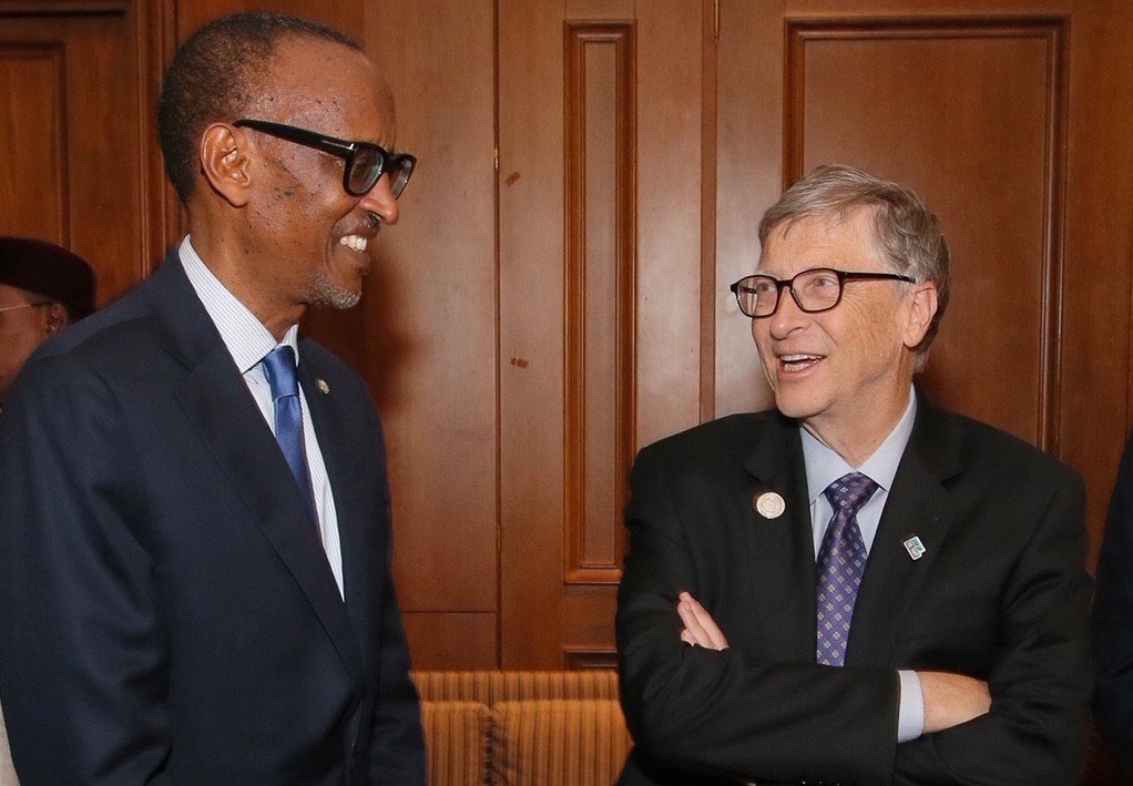 Paul-Kagame-Bill-Gates, The Gates Foundation's 'Green Revolution' in Africa: Agribusiness wins, small scale farmers lose, World News & Views