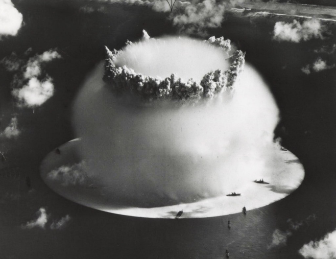 Shot-Baker-Operation-Crossroads-ships-072546-by-Army-Signal-Corps-1, The bomb in our bodies, Local News & Views