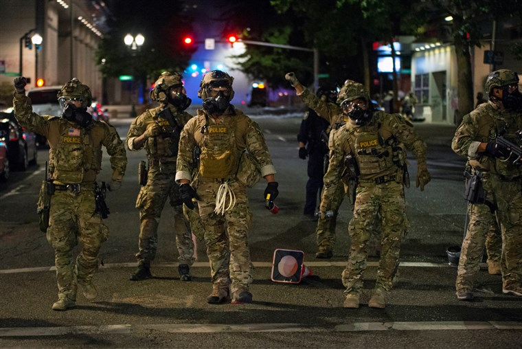Trumps-goons-invade-Portland-0720, What are Trump and his goons up to?, National News & Views