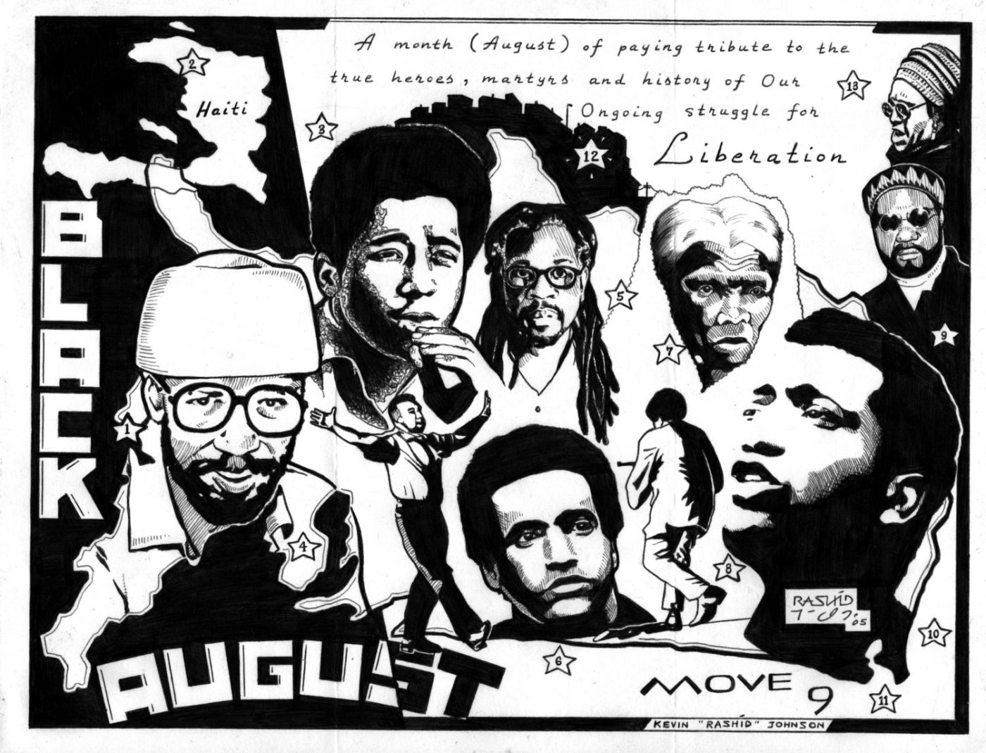 Black-August-art-by-Kevin-Rashid-Johnson-1-1400x1070, Black August 2020: All eyes on us to save our youth, Behind Enemy Lines