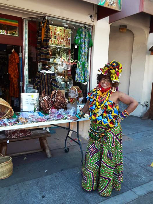 Denise-Gums-displays-her-wares-1, Wanda's Picks for August 2020, Culture Currents