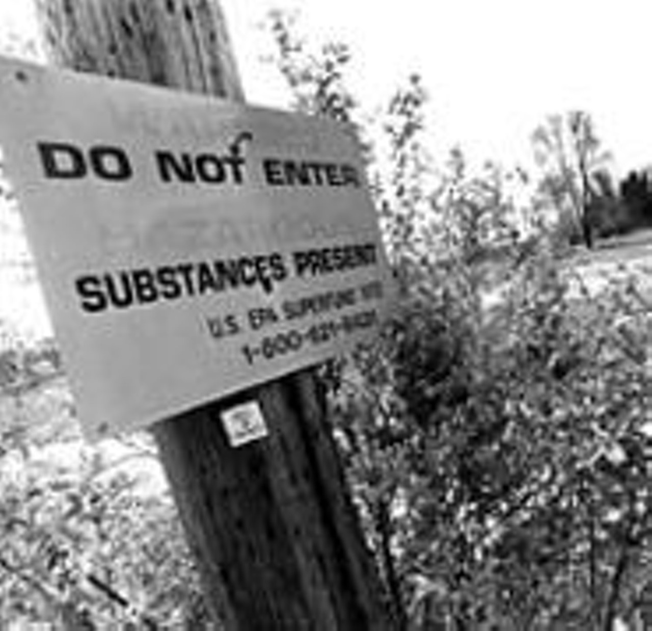 Industrial-Excess-Landfill-substance-sign-from-Scene-2002, 2020 hindsight brings corrupted radiation testing into focus at the EPA – Part 3, National News & Views