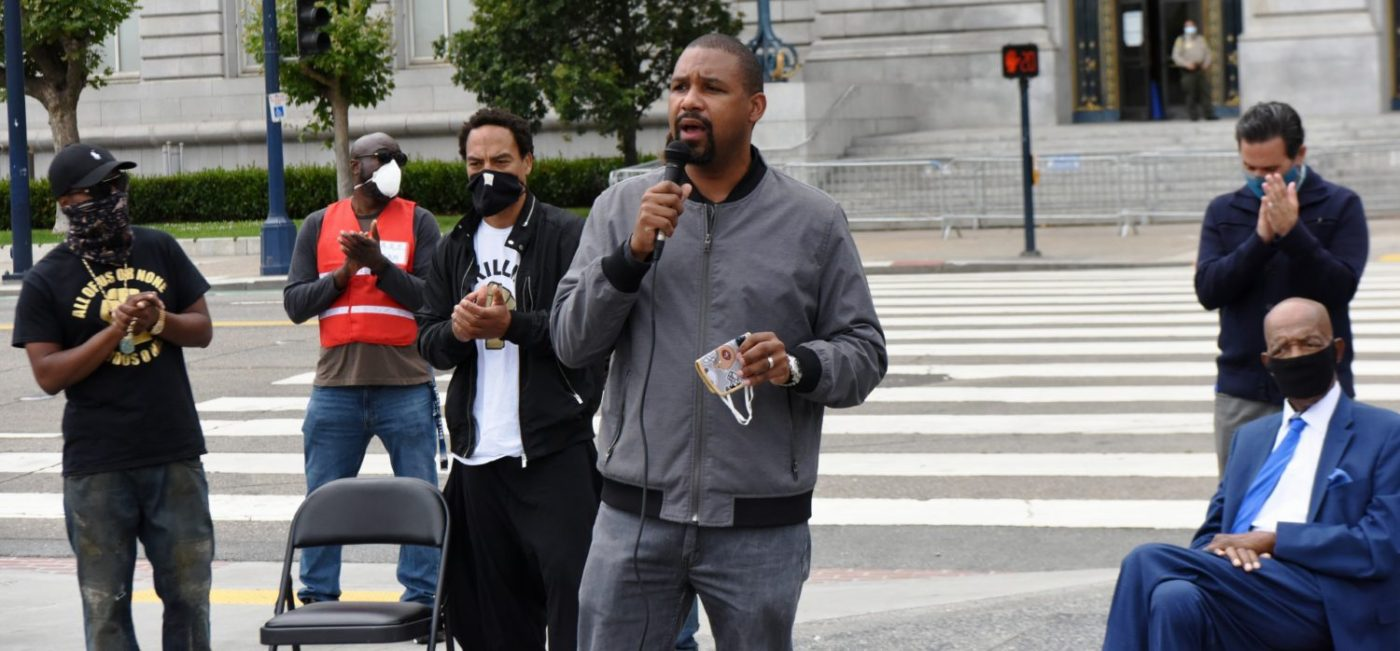 Invest-Black-Rally-supporting-Props-16-17-Sup.-Shamann-Walton-speaking-at-SF-City-Hall-072420-by-Johnnie-Burrell-2-1-1400x651, SF plan to invest in Black community, Local News & Views