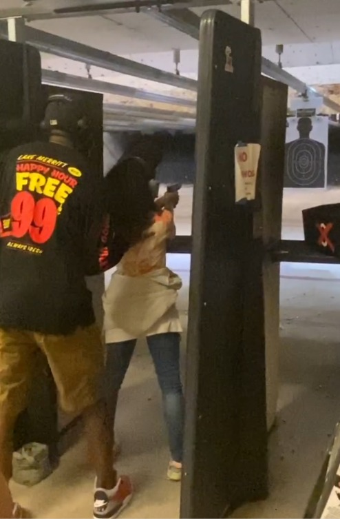JR-Xion-at-her-first-shooting-lesson-0720, My first gun class and day at the range, Culture Currents