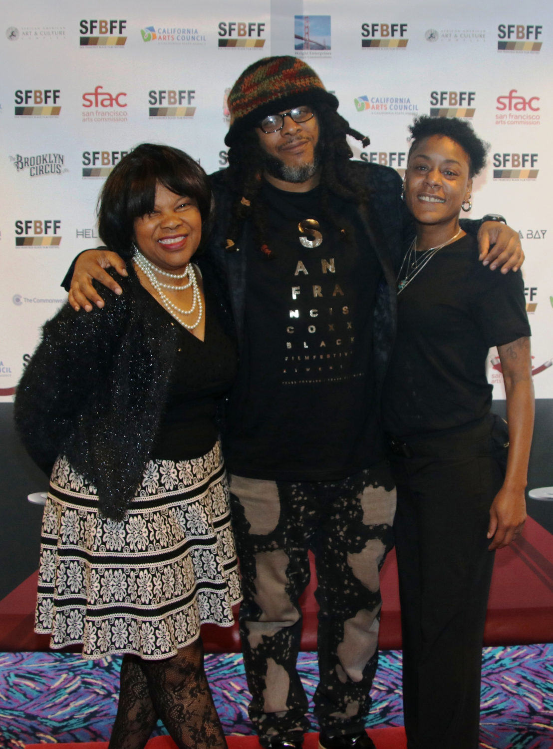 Jackie-Wright-Kali-ORay-Katera-Crossley-at-SFBFF-2017-by-Johnnie-Burrell, San Francisco Black Film Festival mourns the loss of Director Kali O'Ray, Culture Currents