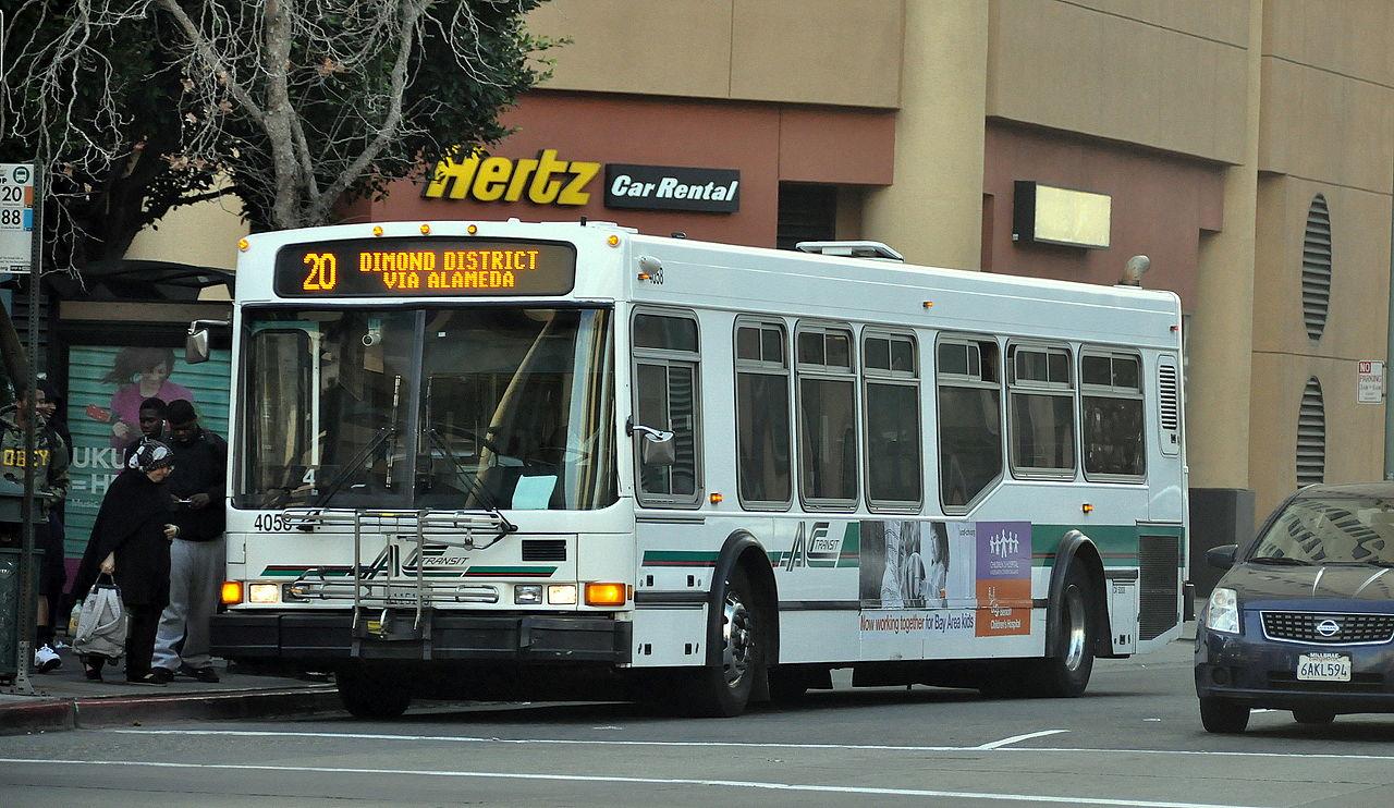 AC-Transit-bus, Transit justice is racial justice, Local News & Views