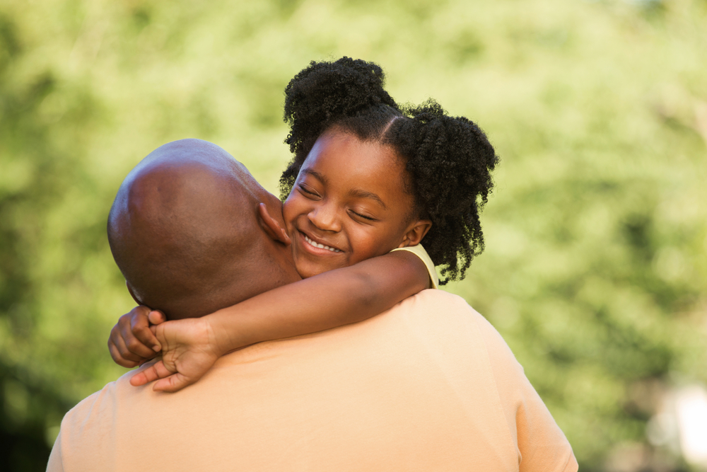 Black-dad-daughter-big-hug, Having 'The Talk' with your children in the era of Black Lives Matter, Culture Currents