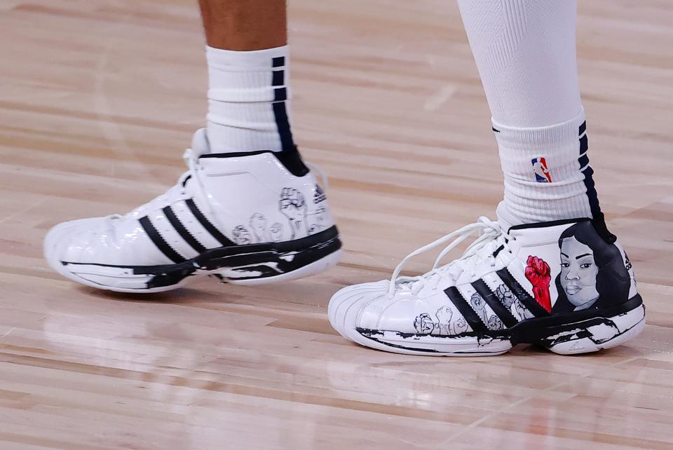 Breonna-Taylor-on-Jamal-Murrays-sneakers-0920, The NBA's Black Power, National News & Views