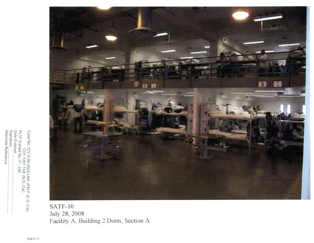SATF-10-Facility-A-Building-2-Dorm-Section-A-072808-by-Rosen-Bien-Galvan-Grunfeld-LLP, A long pattern of institutional abuse and neglect is now putting thousands at risk of another COVID-19 outbreak, Behind Enemy Lines