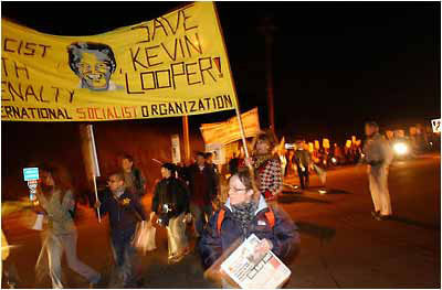 Save-Kevin-Cooper-march-protesting-execution-on-St.-Francis-Drake-Blvd-near-San-Quentin-SP-0718-by-Marcio-Jose-Sanchez-AP, Kevin Cooper: Surviving Death Row and COVID-19 in San Quentin, Behind Enemy Lines