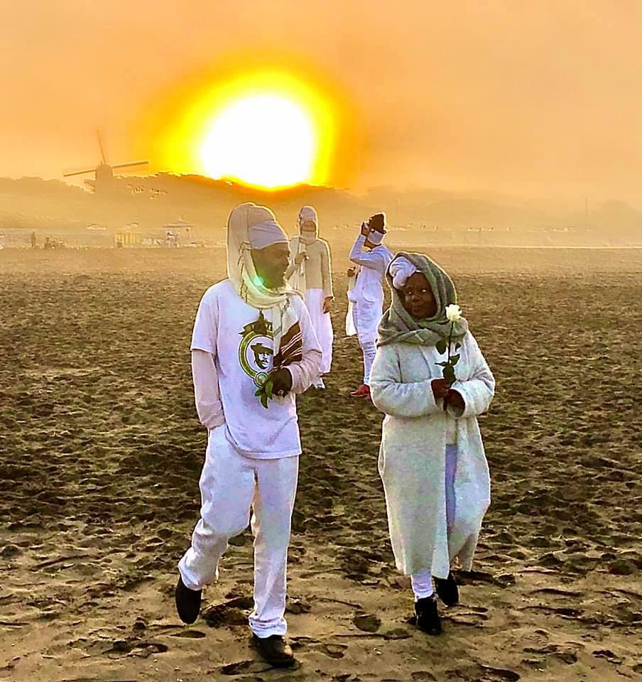25th-MAAFA-Anniversary-Imhotep-Alkebulan-Alicia-Lovelady-Teasley-Ocean-Beach-101120-by-Imhotep-Alkebulan, Reflections on the MAAFA, or Terrible Calamity, Culture Currents